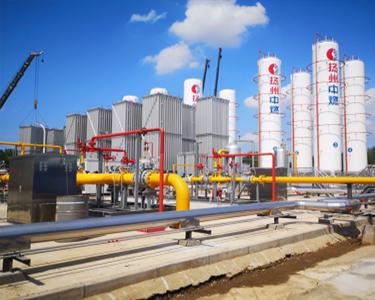 12台150m³LNG低温储罐